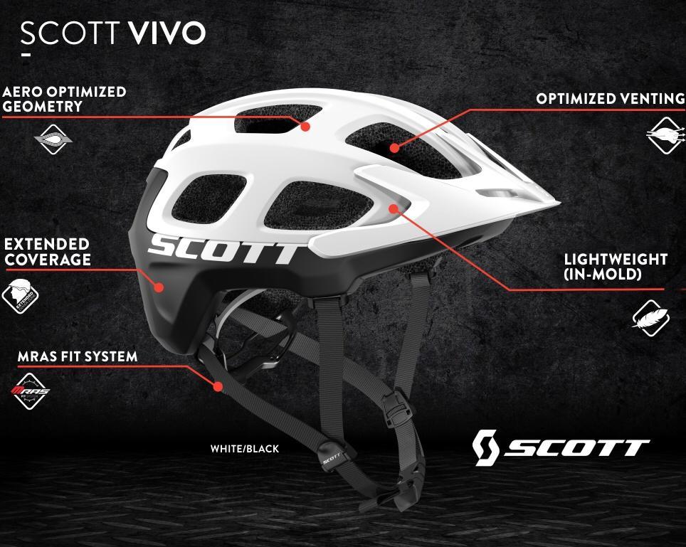 Scott Dağ Bisiklet Kaskı
